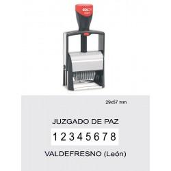 Numerador automático 2008/P