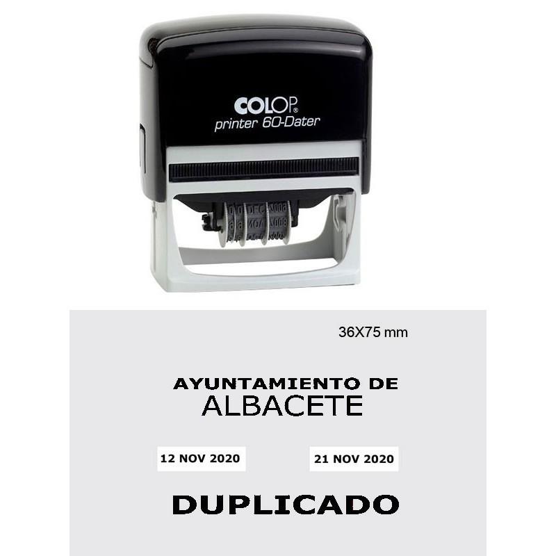 Printer 60-Dater L/R