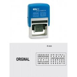 Printer S 220/W Formulario 4 mm.