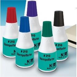 Tinta para sellos metálicos Ref.210 25 ml.